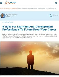 8 Skills for Learning and Development Professionals to Future Proof Your Career  summary