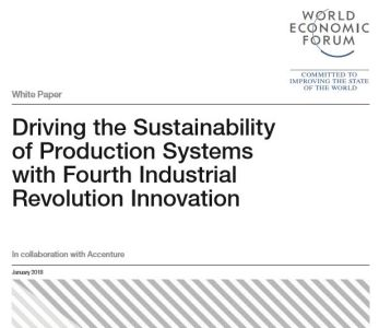 Driving the Sustainability of Production Systems with Fourth Industrial Revolution Innovation summary