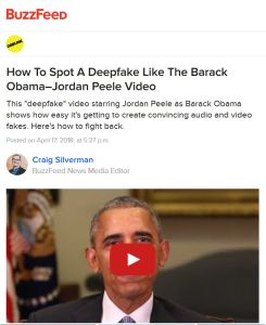 How to Spot a Deepfake like the Barack Obama–Jordan Peele Video