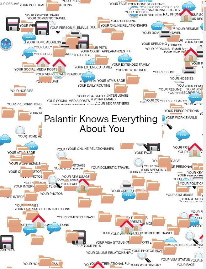 Image of: Palantir Knows Everything  About You