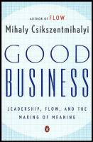 Good Business book summary