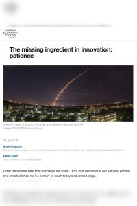 The Missing Ingredient in Innovation summary
