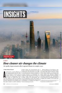 How Cleaner Air Changes the Climate summary