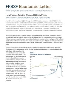 How Futures Trading Changed Bitcoin Prices