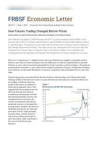 How Futures Trading Changed Bitcoin Prices summary