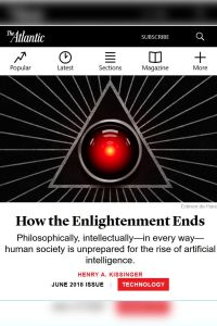 How the Enlightenment Ends summary