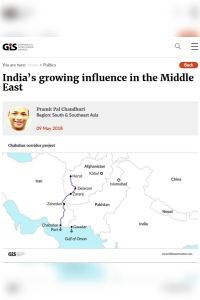 India's Growing Influence in the Middle East summary