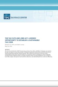 The Tax Cuts and Jobs Act summary