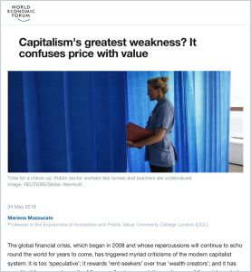 Capitalism's Greatest Weakness?