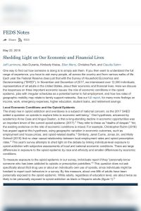 Shedding Light on Our Economic and Financial Lives summary