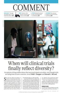 When Will Clinical Trials Finally Reflect Diversity? summary