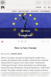 How to Save Europe summary