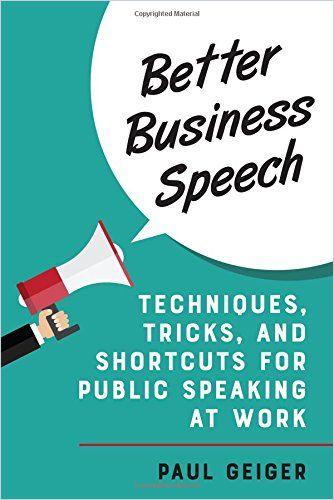 Image of: Better Business Speech