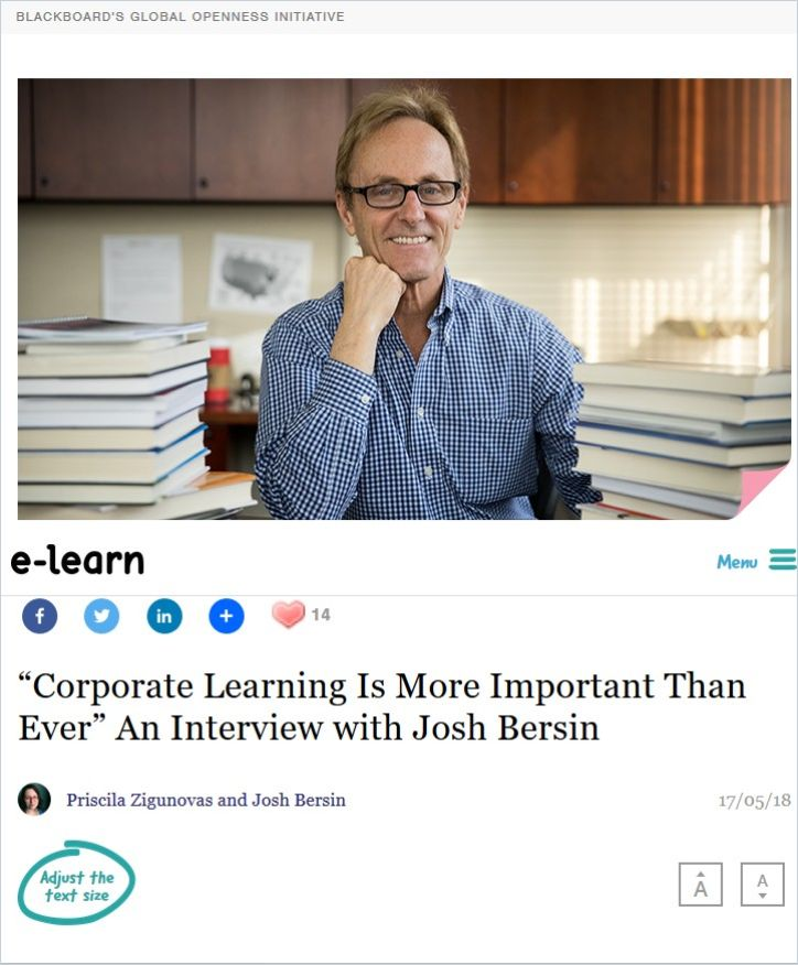 """Image of: """"Corporate Learning Is More Important than Ever"""""""