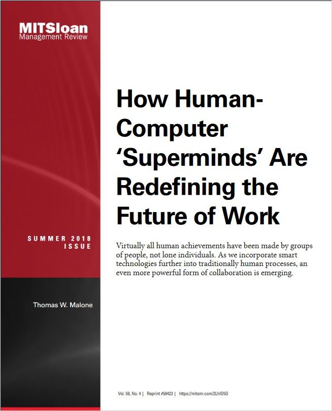 Image of: How Human-Computer 'Superminds' Are Redefining the Future of Work