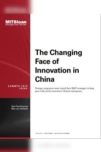 The Changing Face of Innovation in China summary