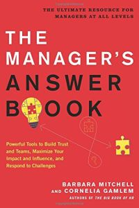 The Manager's Answer Book book summary