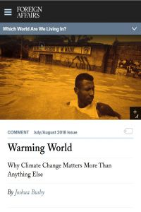 Warming World summary