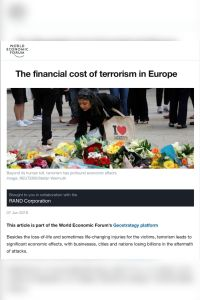 The Financial Cost of Terrorism in Europe summary
