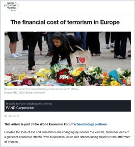 The Financial Cost of Terrorism in Europe