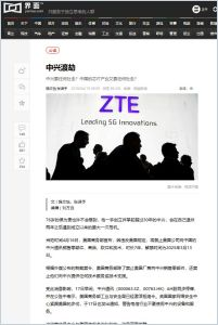 ZTE: When Disaster Strikes summary