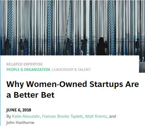 Image of: Why Women-Owned Startups Are a Better Bet