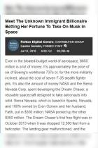 Meet the Unknown Immigrant Billionaire Betting Her Fortune to Take On Musk in Space