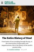 The Entire History of Steel