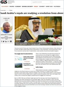 Saudi Arabia's royals are readying a revolution from above