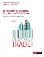 The Hinrich Foundation Sustainable Trade Index