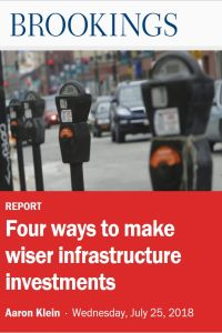 Four Ways to Make Wiser Infrastructure Investments summary