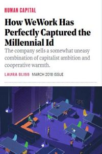 How WeWork Has Perfectly Captured the Millennial Id summary