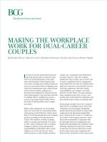 Making the Workplace Work for Dual-Career Couples