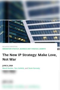 The New IP Strategy summary