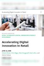 Accelerating Digital Innovation in Retail