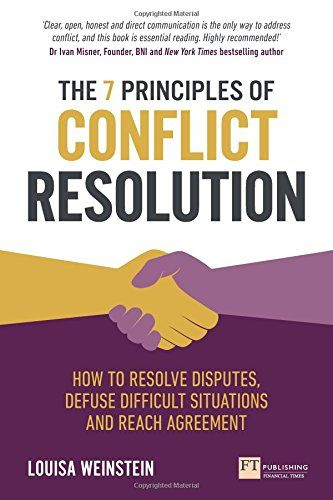 Image of: The 7 Principles of Conflict Resolution