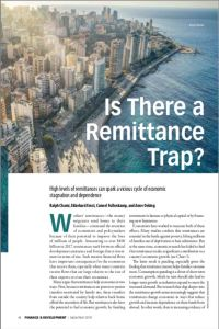 Is There a Remittance Trap? summary