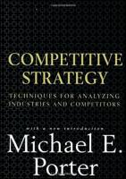 Competitive Strategy book summary