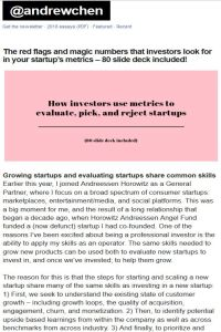 The Red Flags and Magic Numbers That Investors Look For in Your Startup's Metrics summary