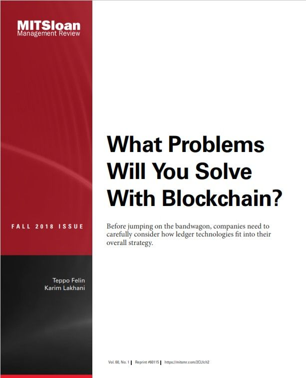 Image of: What Problems Will You Solve with Blockchain?