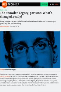 The Snowden Legacy summary