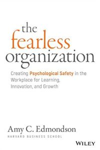 The Fearless Organization book summary