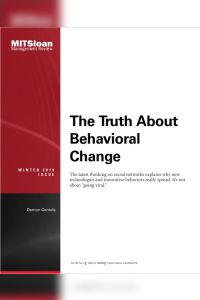 The Truth About Behavioral Change summary