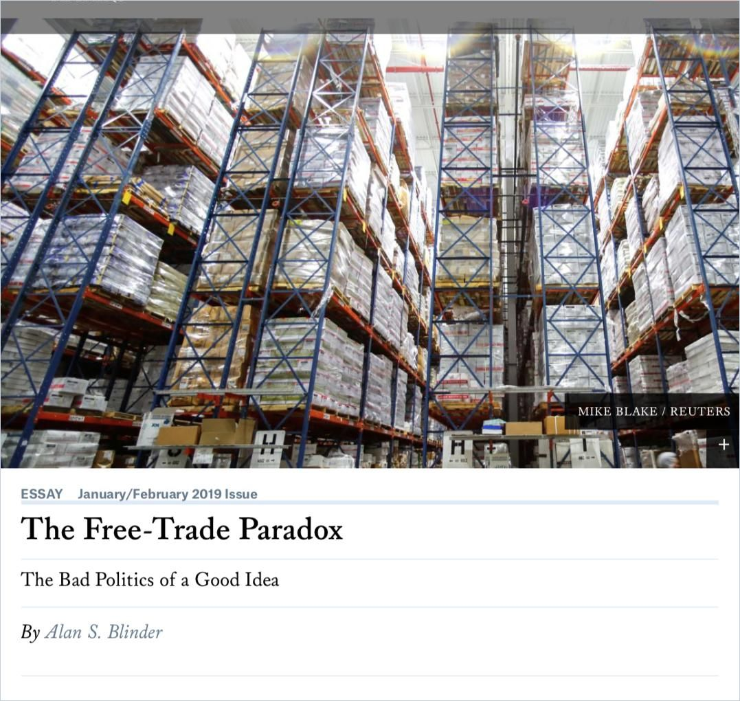 Image of: The Free-Trade Paradox