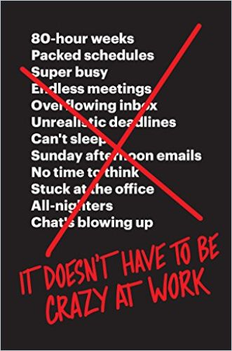 Image of: It Doesn't Have to Be Crazy at Work