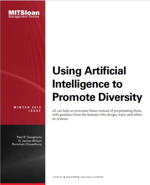 Image of: Using Artificial Intelligence to Promote Diversity