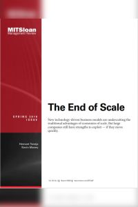 The End of Scale summary