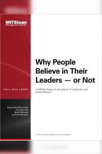 Why People Believe in Their Leaders – or Not summary