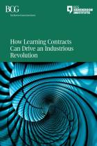 How Learning Contracts Can Drive an Industrious Revolution