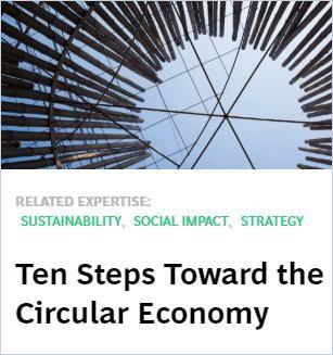 Image of: Ten Steps Toward the Circular Economy